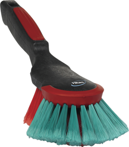 Vikan Hand Brush, 320 mm, Soft/split, Black